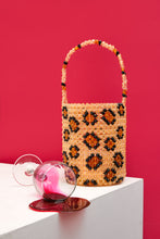 Load image into Gallery viewer, Leopard Bucket Bag