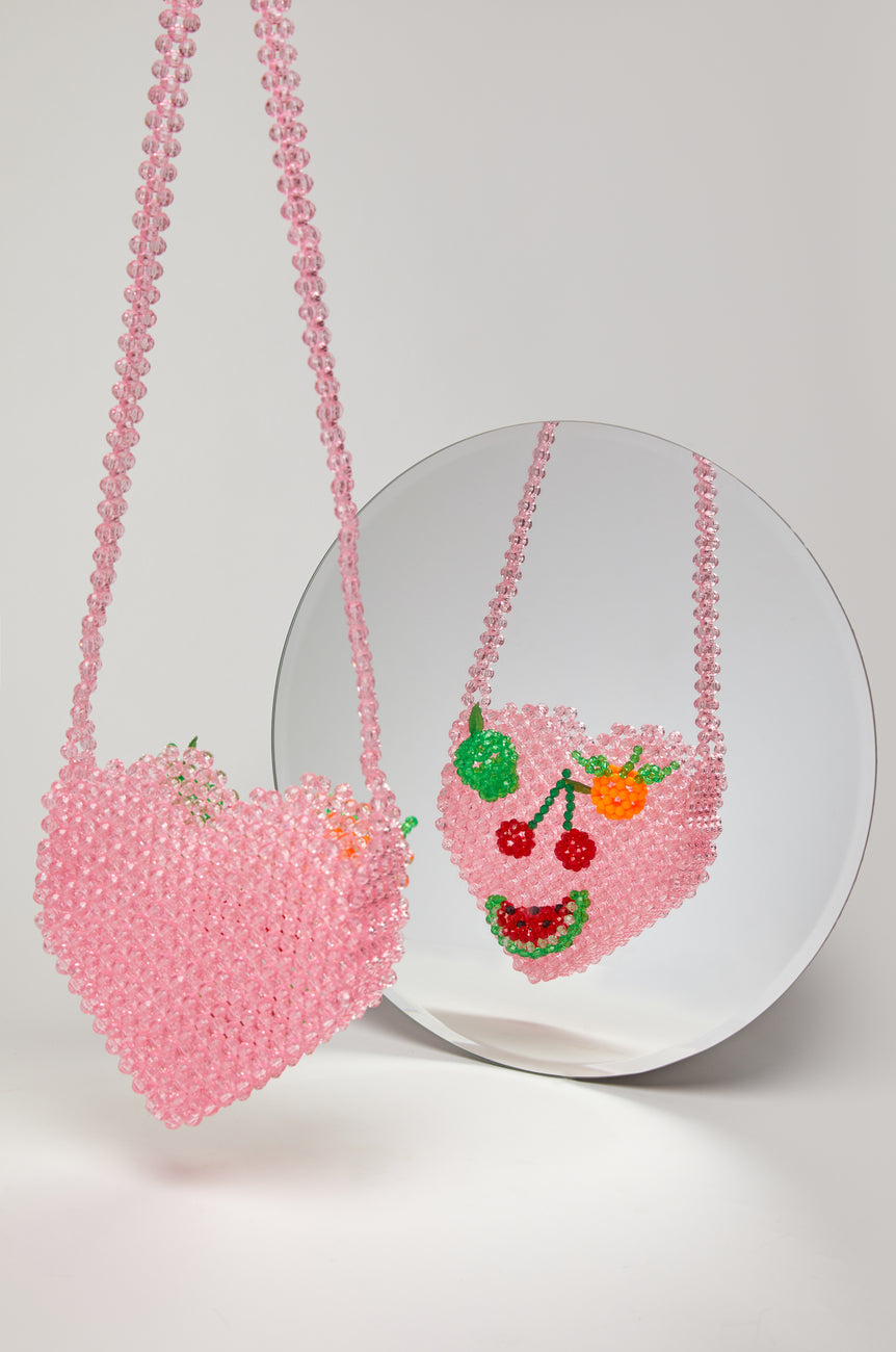 Fruit Face Crossbody Bag