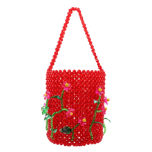 Load image into Gallery viewer, Plum Blossom Bucket Bag