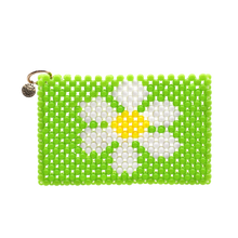 Load image into Gallery viewer, Green Daisy Card Holder