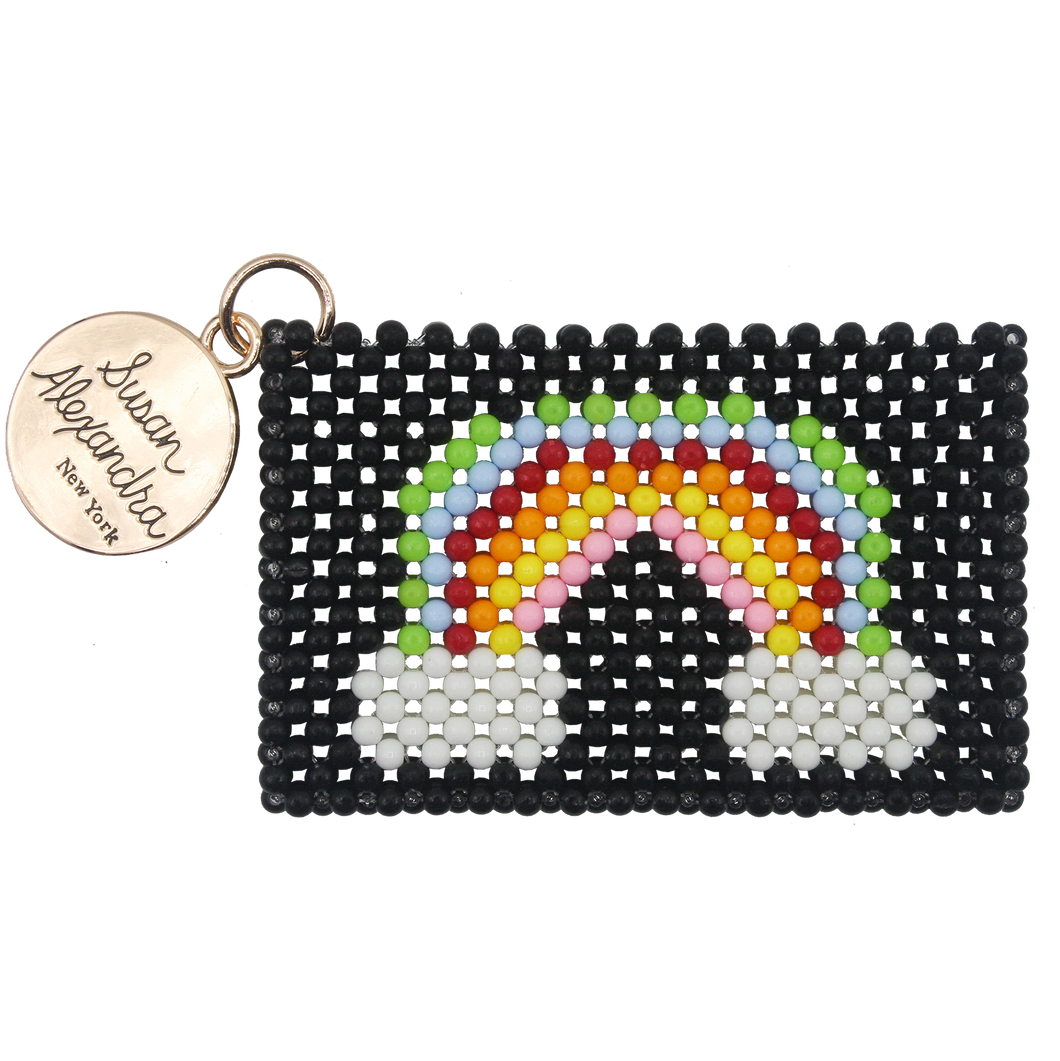 Rainbow Bright Card Holder