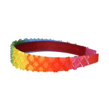 Load image into Gallery viewer, Rainbow Ombré Headband
