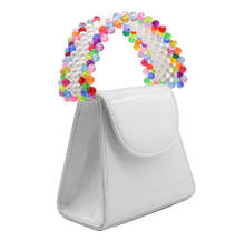 Load image into Gallery viewer, White Rainbow Tante Bag