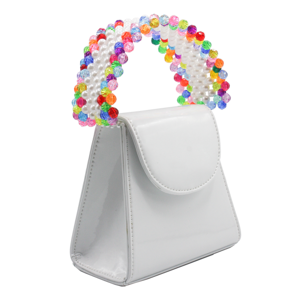 White Rainbow Tante Bag