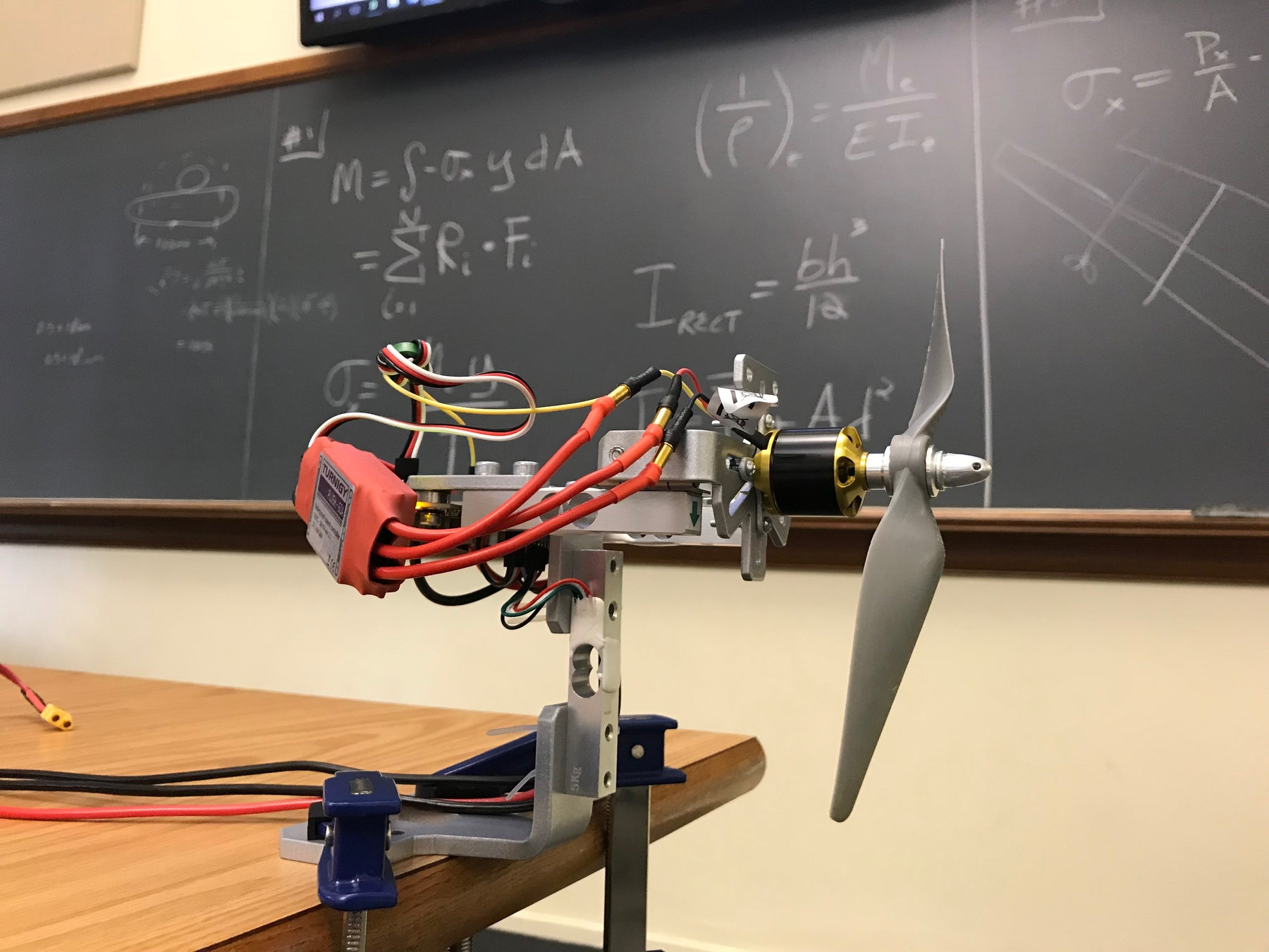 Series 1580 Used for the AIAA Design-Build-Fly Competition by Lehigh University
