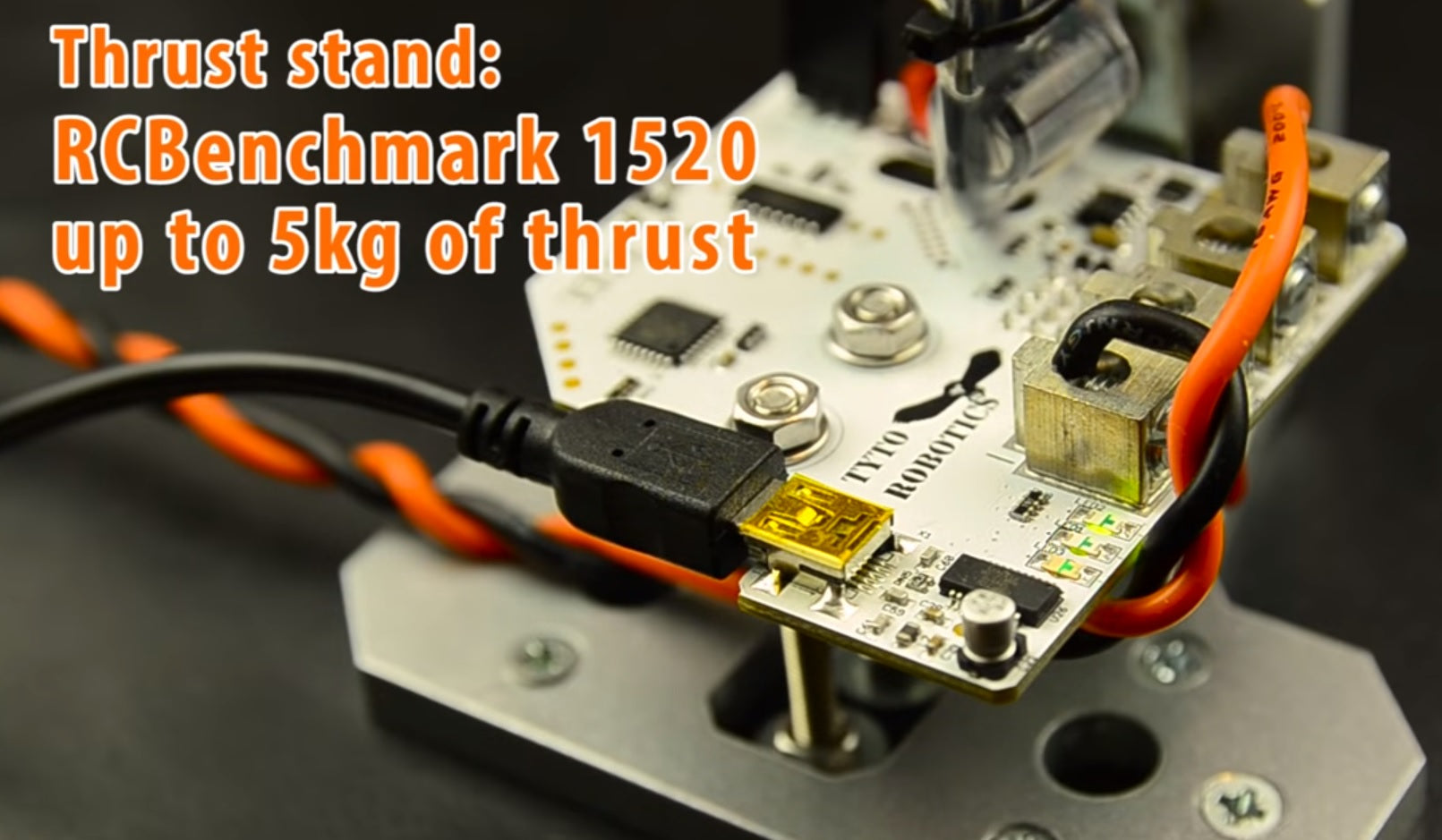 Thrust Stand Example From Mutefpv Youtube Channel Rcbenchmark Electrical Wiring Part Ii