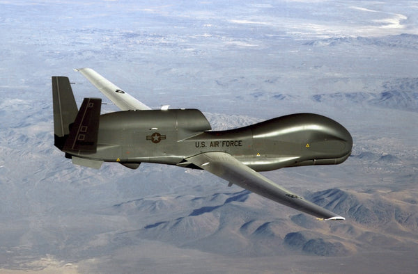 RQ-4 Global Hawk used by the U.S. Air Force
