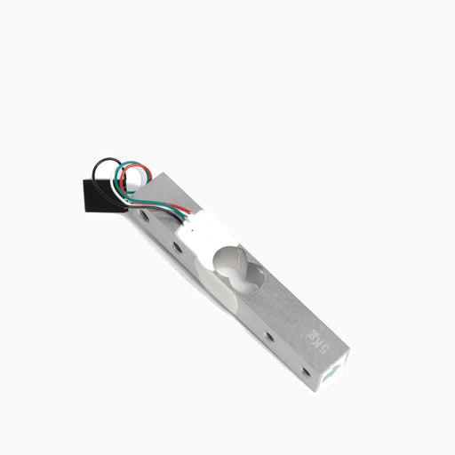 Custom load cell with crimped connector