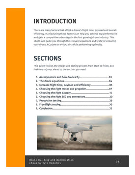 Drone building eBook chapters