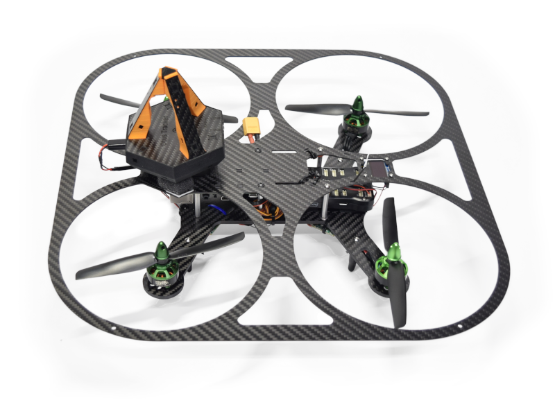 Otus quadcopter with tracker