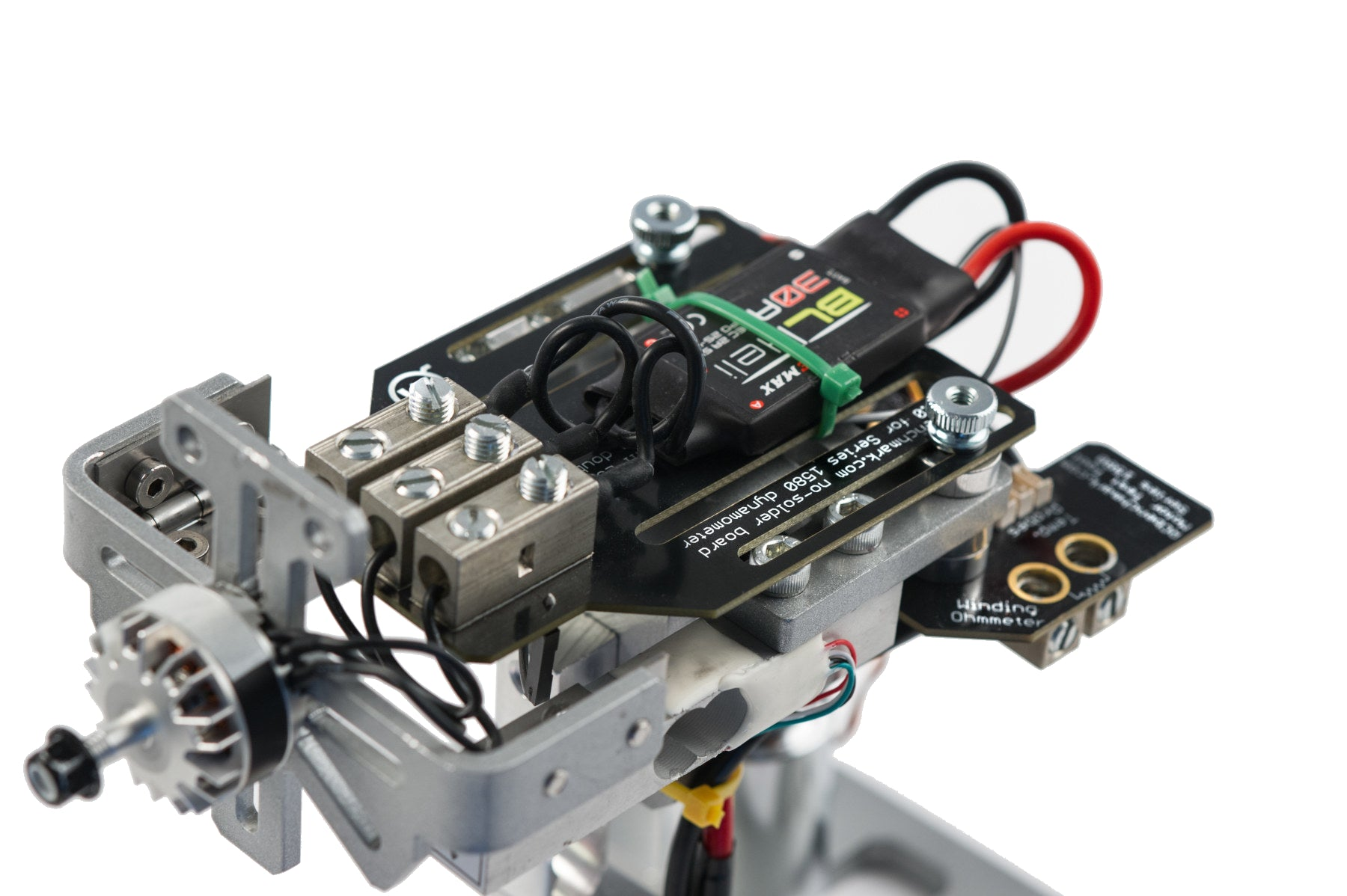 Series 1585 test stand hardware with ESC