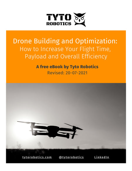 eBook cover page drone building and optimization