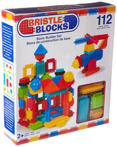 Bristle Blocks Basic Builder Set - 112 piece