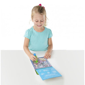 Water Wow No Mess Paint Book - On The GO Travel Activity - ADVENTURES