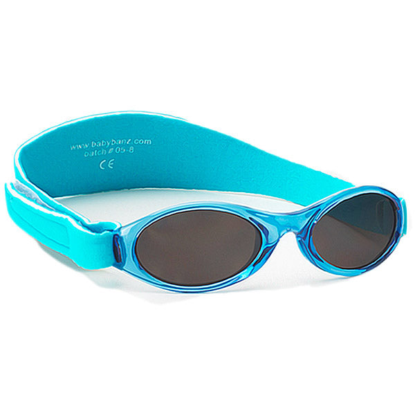 Banz Adventure Baby Sunglasses - Aqua - 0-2 years