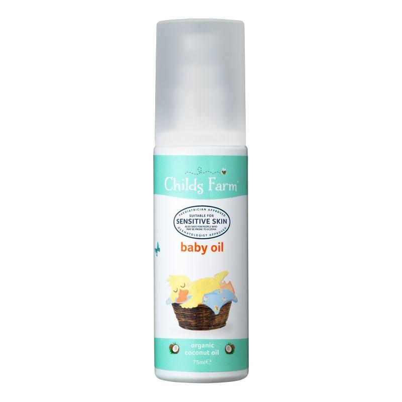 Childs Farm Baby Oil 75ml (Organic Coconut Oil)