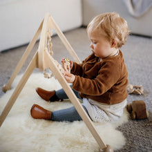 Load image into Gallery viewer, Classic Sheepskin PLAY Sheepskin Baby Rug - Natural White or Honey