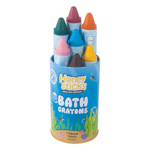 Honeysticks Bath Crayons - 7 Vibrant Colours