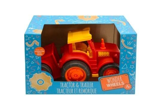 Battat Wonder Wheels Take-Apart Tractor & Trailer