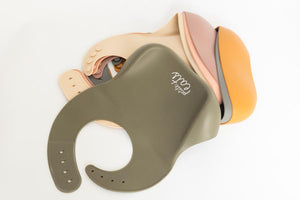 Petite Eats Premium Silicone Bibs - Choose Your Colour