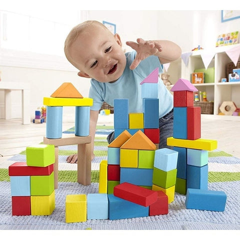 Hape Wonderful Beech Blocks - 101 pieces