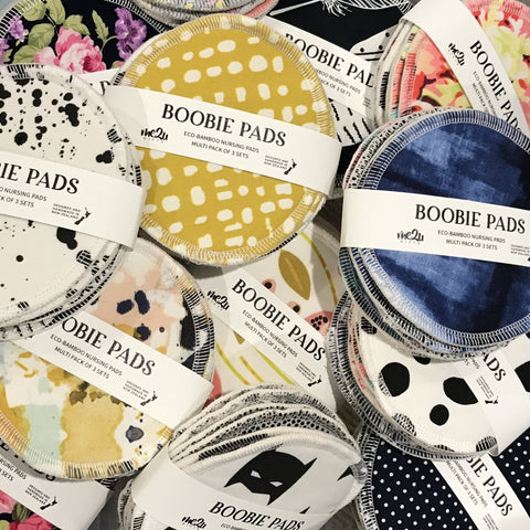 Boobie Pads - Multi mixed 3 Set Pack