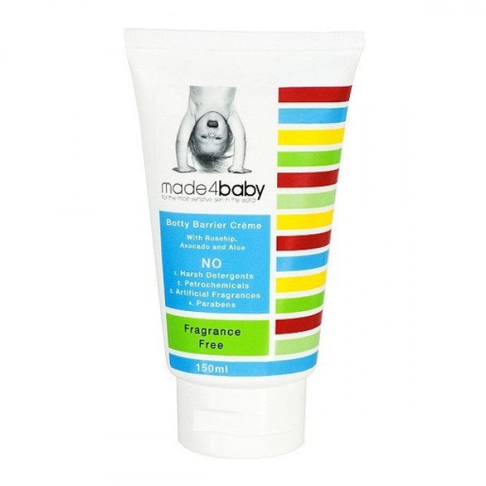 Made4Baby Botty Barrier / Nappy Rash Cream (Fragrance Free) 150ml