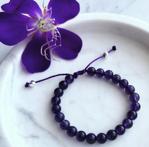 The Warrior Within Amethyst Warrior Bracelet - 2 sizes - Child & Adult