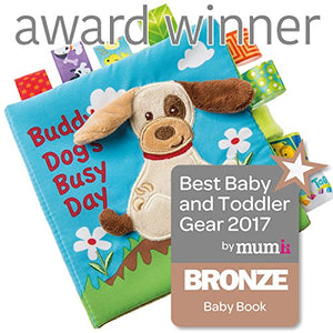 Taggies Buddy Dog's Busy Day Soft Book