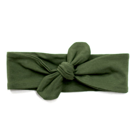 Burrow & Be Essentials Baby Head Band - Pine