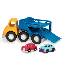 Load image into Gallery viewer, Battat Wonder Wheels Car Carrier - Includes 2 cars
