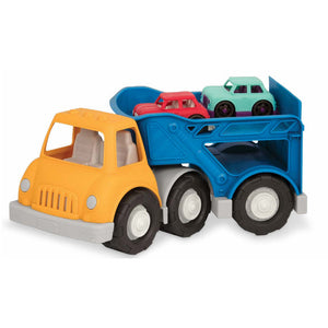 Battat Wonder Wheels Car Carrier - Includes 2 cars