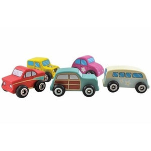 Discoveroo Wooden Beach Car Set