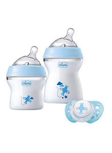 Chicco Natural Feeling First Gift Set - Blue