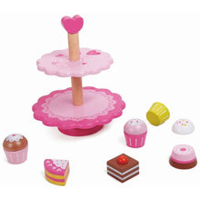Load image into Gallery viewer, Classic World Wooden Cupcake Stand