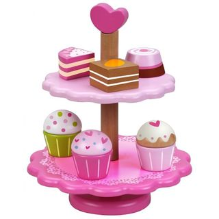 Classic World Wooden Cupcake Stand
