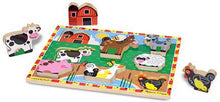 Load image into Gallery viewer, Melissa & Doug Chunky Puzzle - Farm Animals