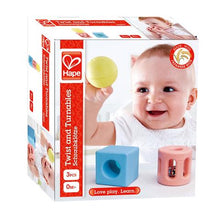 Load image into Gallery viewer, Hape Geometric Rattles - 3 piece