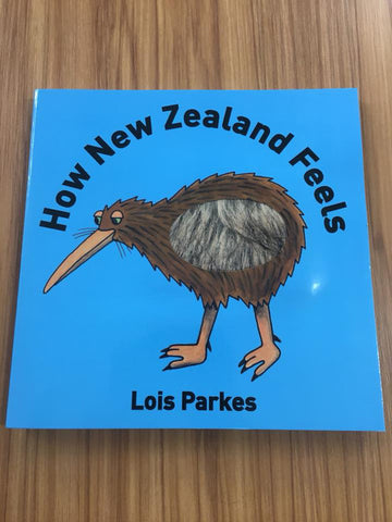 How New Zealand Feels - Touch & Feel Book