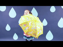Load and play video in Gallery viewer, Floss & Rock Colour Changing Umbrella - Enchanted