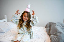 Load image into Gallery viewer, Brolly Sheet with Wings - Single Bed Size - Unicorn