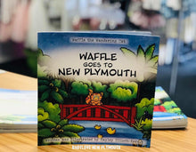 Load image into Gallery viewer, Waffle Goes To New Plymouth Book