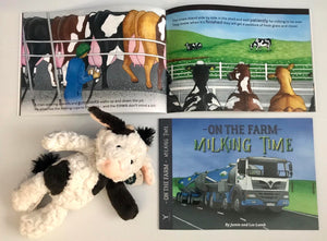 On The Farm Milking Time Book