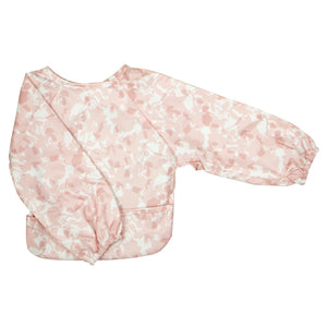 Silly Billyz Wipe Clean Long Sleeve Bib - Bloom