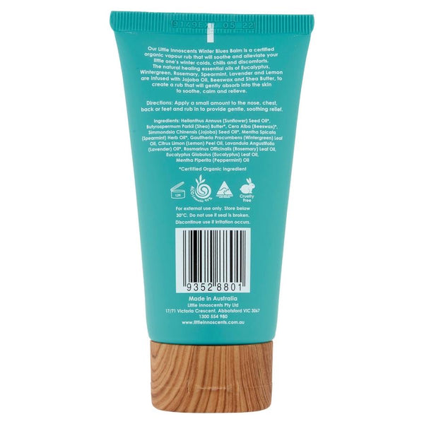 Little Innoscents Winter Blues Balm - 75ml - Warming Eucalyptus