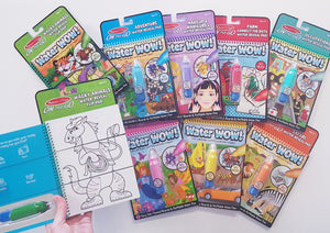 Water Wow No Mess Paint Book - On The GO Travel Activity - FAIRY TALE