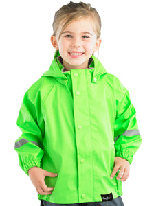 Mum2mum Rainwear Jackets - Camo - Sizes 1, 2, 3 4 years