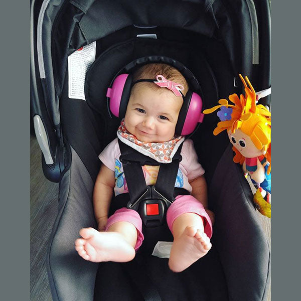 Banz Mini Earmuffs - 0-2 years - Choose your Colour