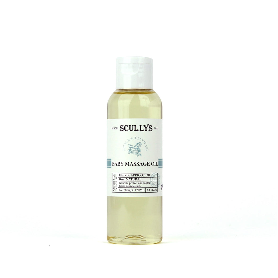 Baby Scullywags Baby Massage Oil 120ml