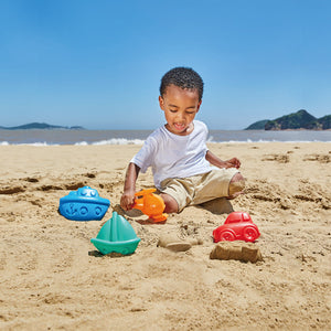 Hape Travel Sand Mold Set